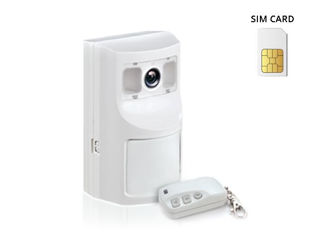 Kit antifurto sensore con telecamera kit con telecomando